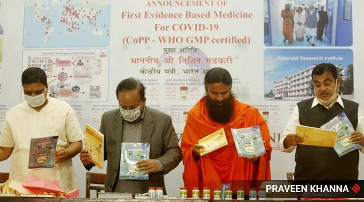 Dr Harsh Vardhan should say he is not endoring Patanajali's Coronil: Indian Medical Association
