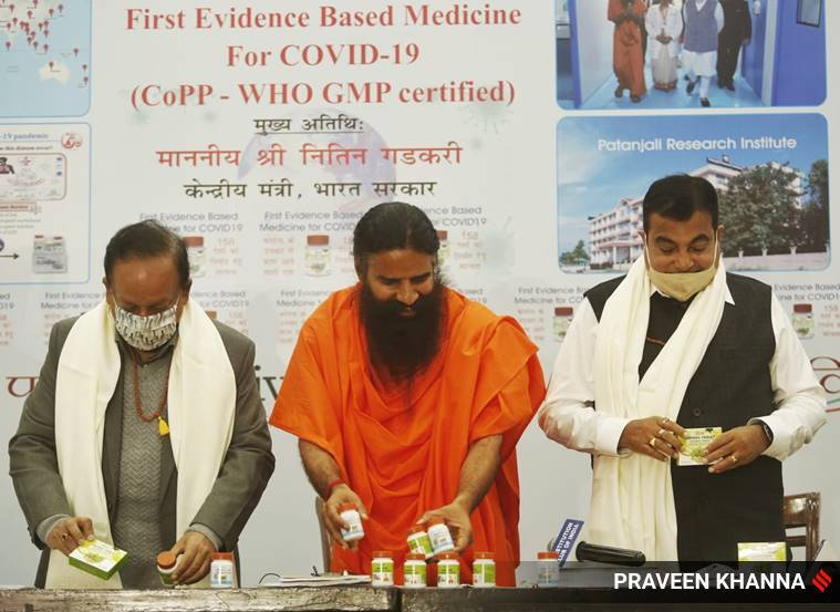 Coronil has received AYUSH certification as per WHO norms: Patanjali