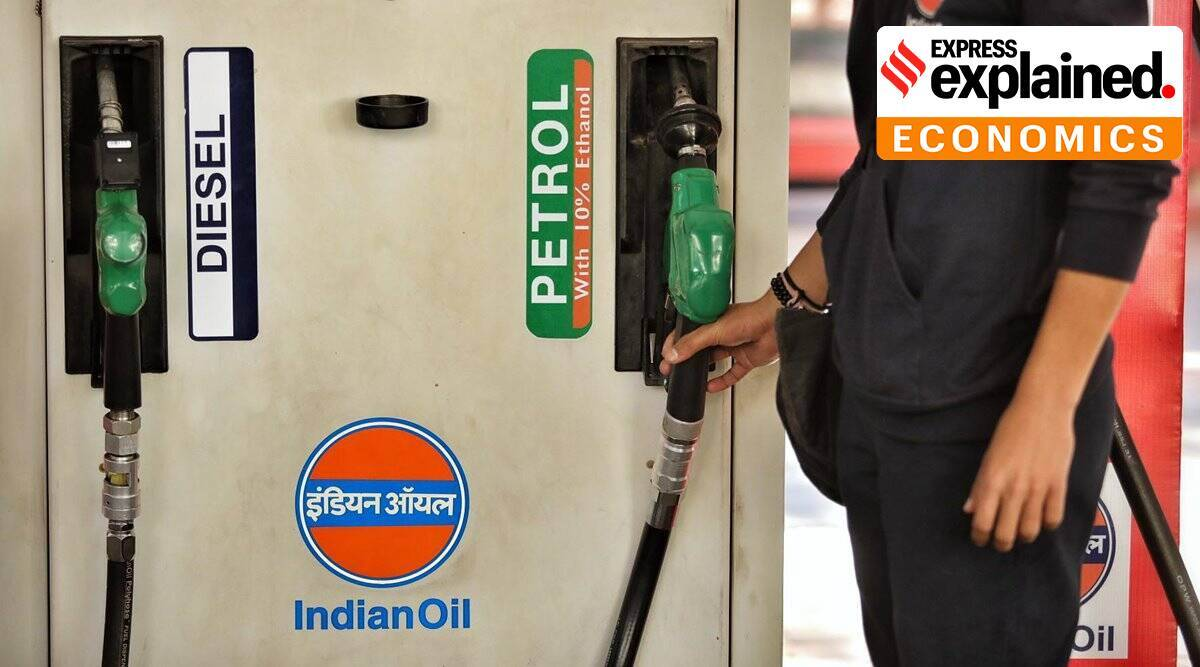 Explained: Here's why petrol and diesel prices are rising in India - The Indian Express
