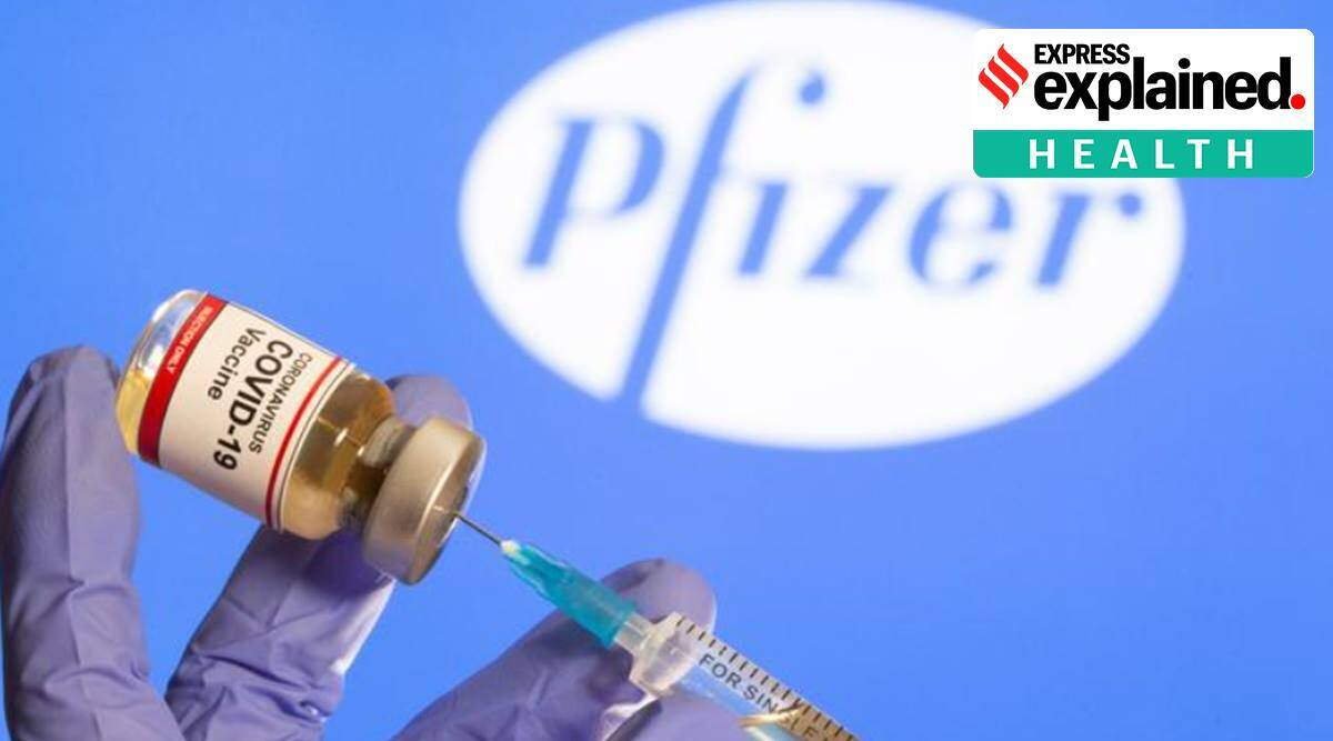Pfizer covid 19 vaccine, Pfizer covid vaccine india, Pfizer coronavirus vaccine india, BNT162b, india coronavirus vaccine, cdsco, mrna technology, coronavirus vaccine news, indian express explained