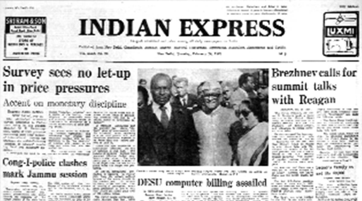 Leonid Brezhnev, Soviet union, US, Afghan problem, Cold war, Ronald Reagan, UN Security Council, Moscow, Indian express news