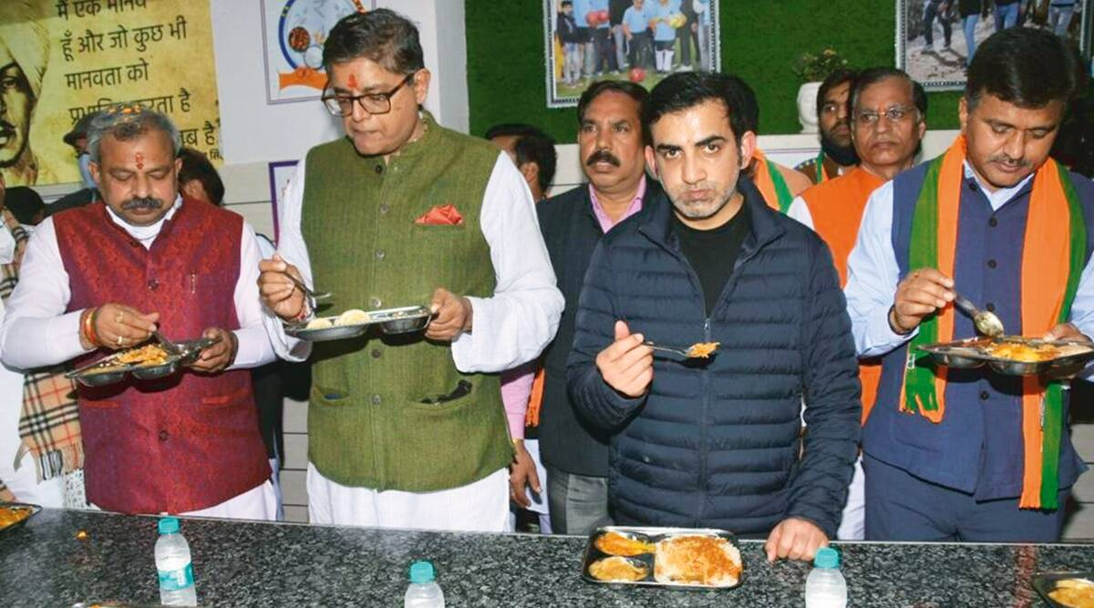 Delhi: New Gambhir canteen to serve lunch at Re 1