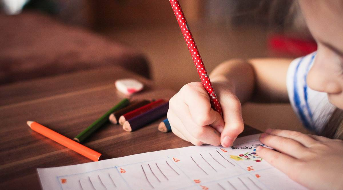 writing skills, developing writing skills in children, helping children to write, writing in children, grip strength, parenting, indian express
