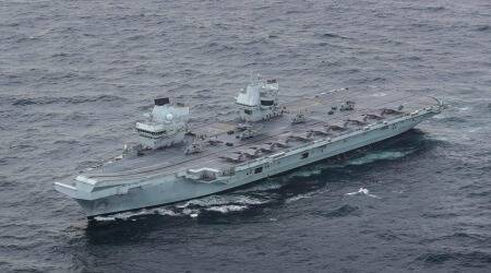 UK government, aircraft carrier, Indo-Pacific region, HMS Queen Elizabeth, Comprehensive and Progressive Trans-Pacific Partnership, Japan and UK relations, world news, indian express