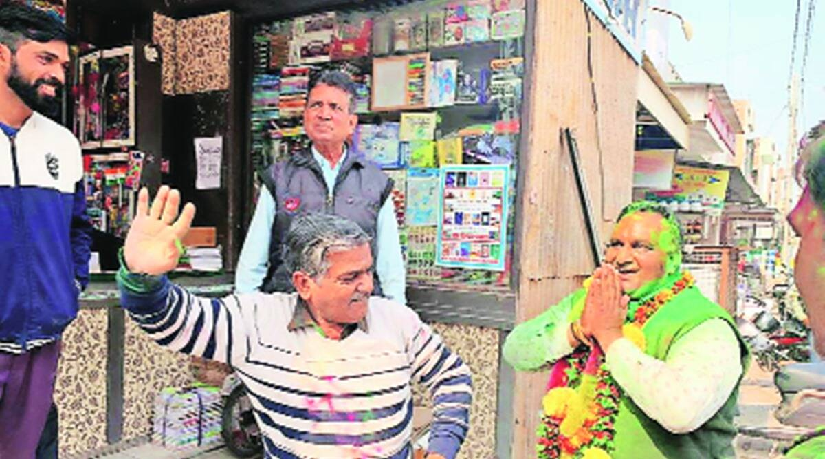 Punjab polls, Punjab local body polls, punjab bjp, punjab bjp local body win, indian express news