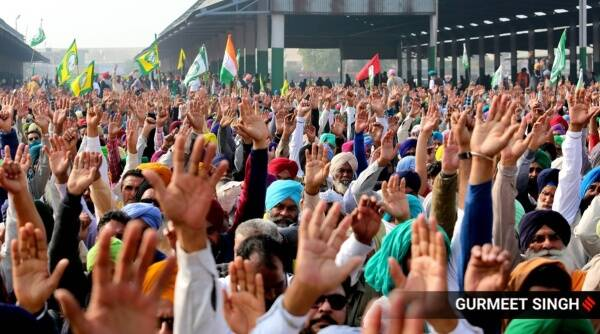 Punjab mahapanchayat farmers protests