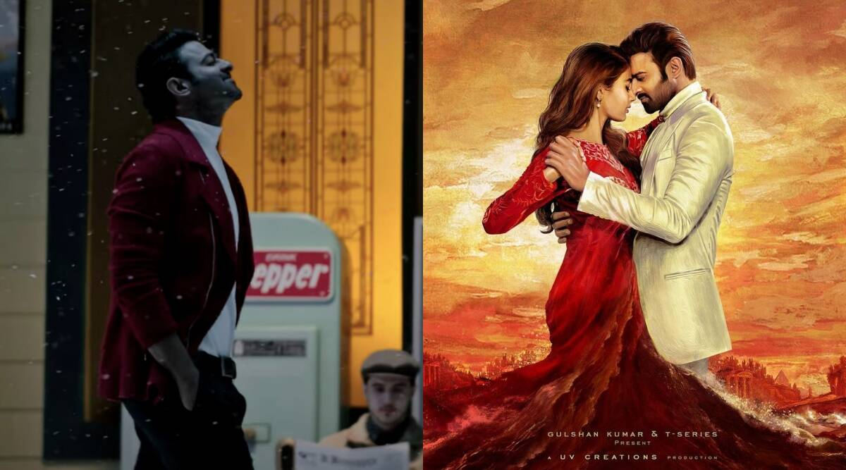 Prabhas looks lovestruck in Radhe Shyam pre teaser, watch video | Entertainment News,The Indian Express
