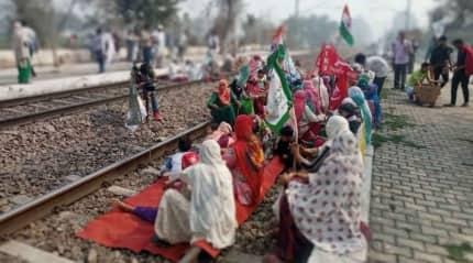 In Haryana's 'khapland', a welcome upset: women lead rail roko agitation