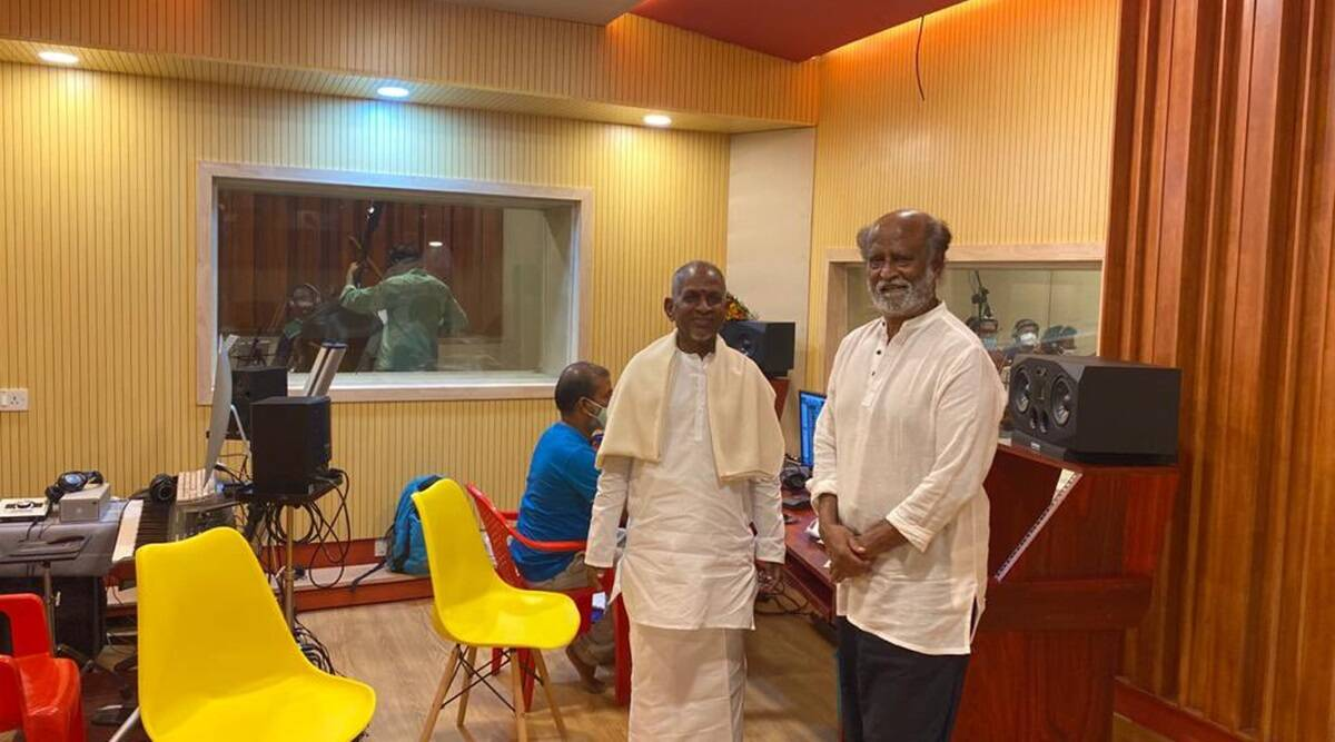 ilayiraaja and rajinikanth