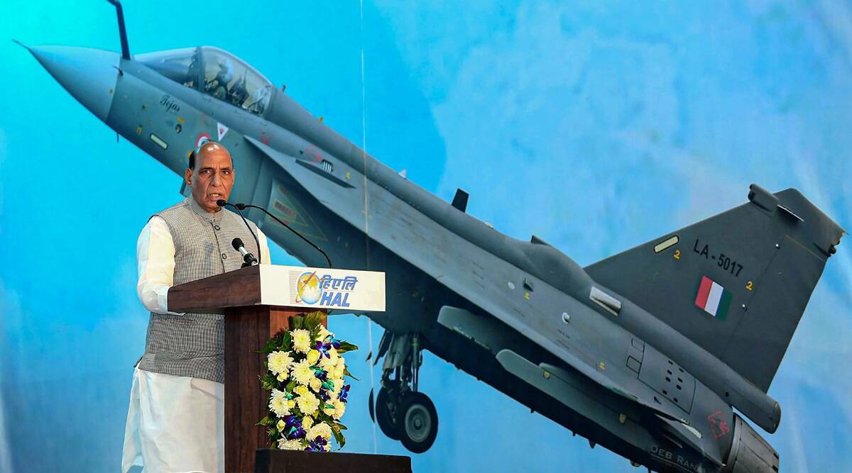 Air Force Chief, RKS Bhadauria, India Air Force Chief, Tejas aircrafts, HAL, Ministry of Defence, Make in India, Hurun Global Unicorn List 2020, Shripad Naik, India Arms Export, Indian express, Indian express opinion