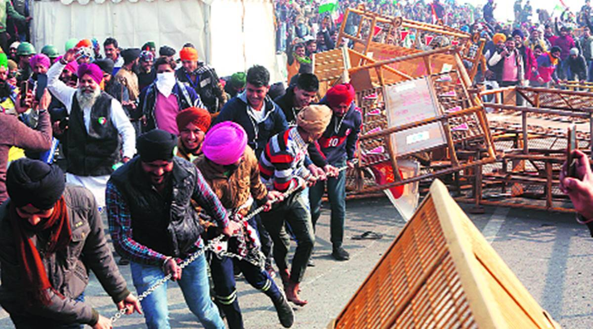 In FIR against protesters, three farm laws find mention