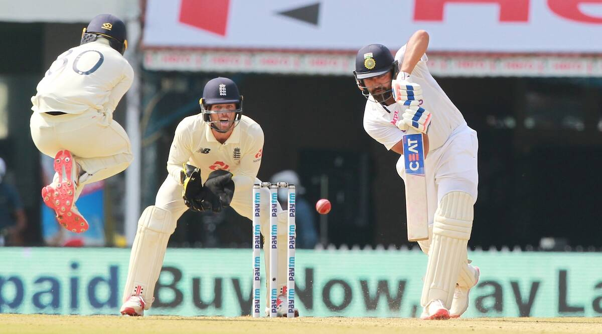 Rohit Sharma proves to be India's lynchpin with seventh Test ton against  England | Sports News,The Indian Express
