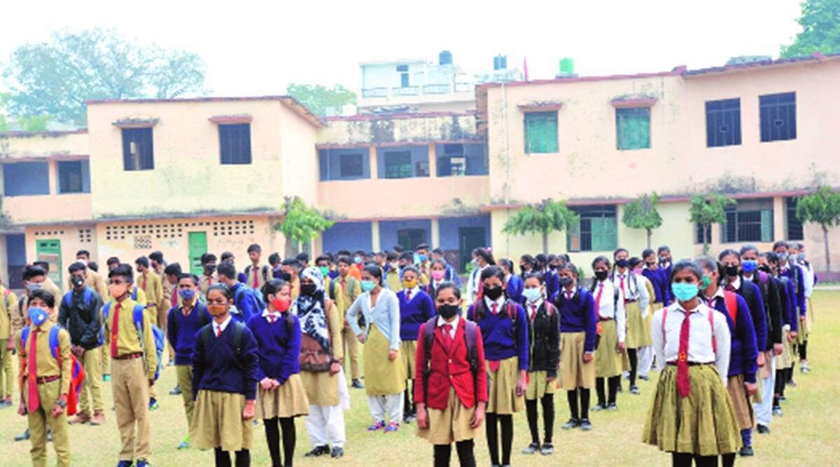 UP covid, Up schools, Up schools resume, up education news, indian express news