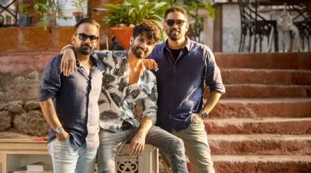 shahid kapoor with raj and dk