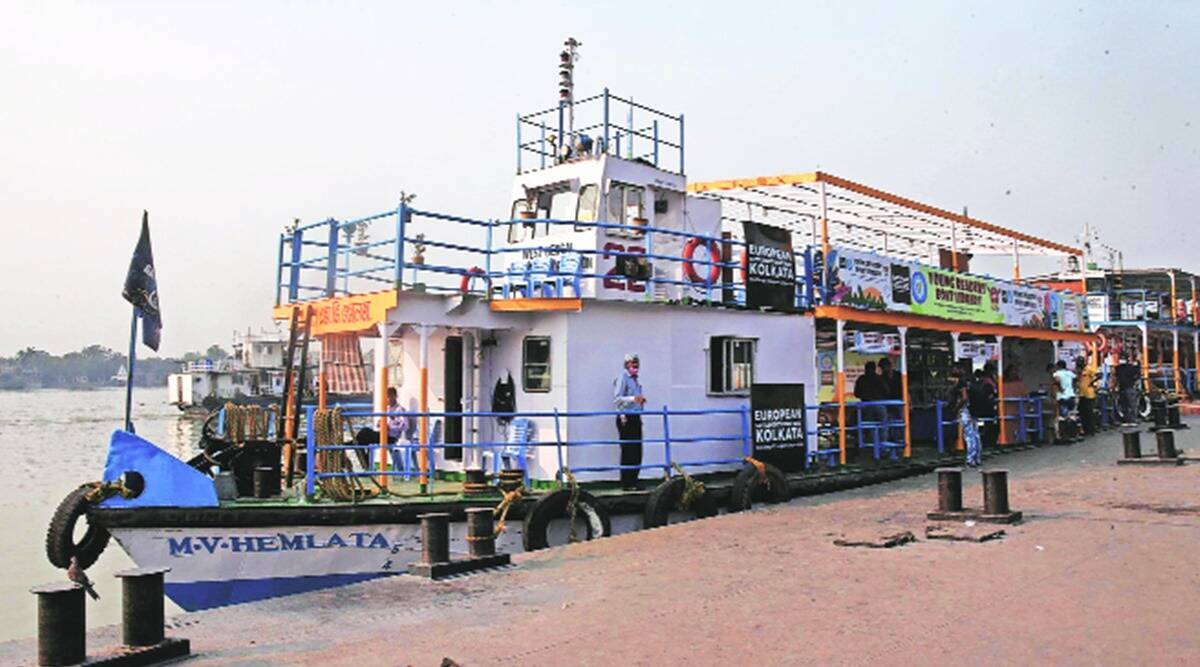 A slice of European history, along the Hooghly River