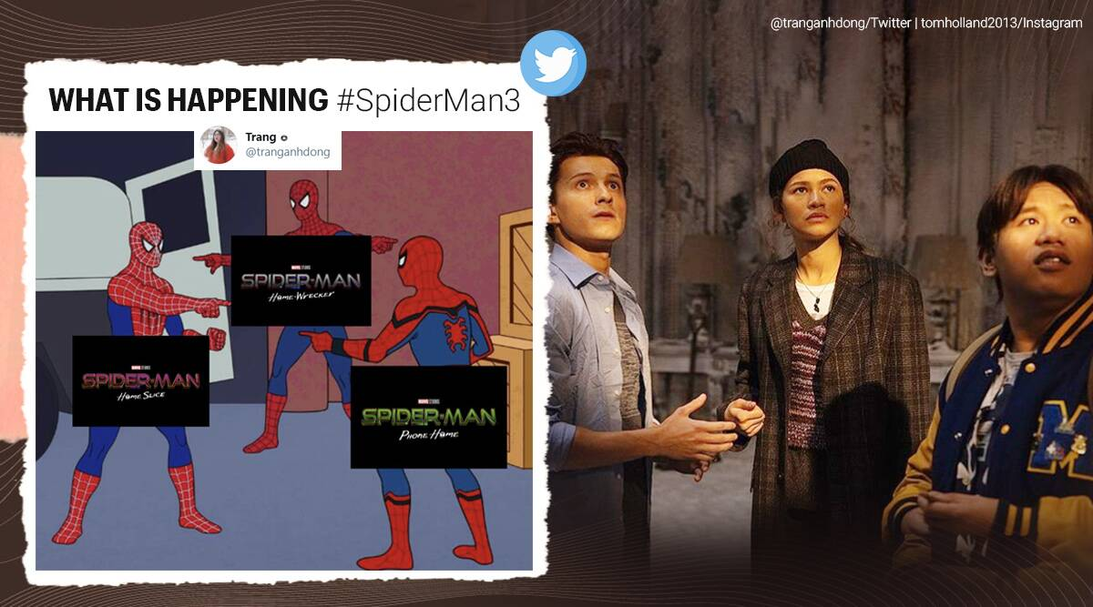 spider-man 3, spider man 3 titles, spiderman title memes, fans come up with spider man next title, entertainment news, indian express