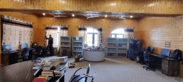 srinagar public library, Srinagar network of libraries, Srinagar library features, Bagh e mehtab library, literary news, indian express