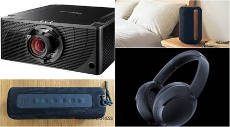 syska p2024j power bank, helix smartwatch, sony srs ra3000 smart speaker, mi neckband pro, mi portable speaker, Optoma ZK750 projector, tcl wired earphones, tcl bluetooth earphones, tcl anc headphones