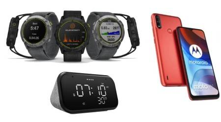 Garmin Enduro smartwatch, Moto E7 Power, Lenovo Smart Clock Essential, boAt Aavante Bar 4000DA, Philips, soundbar