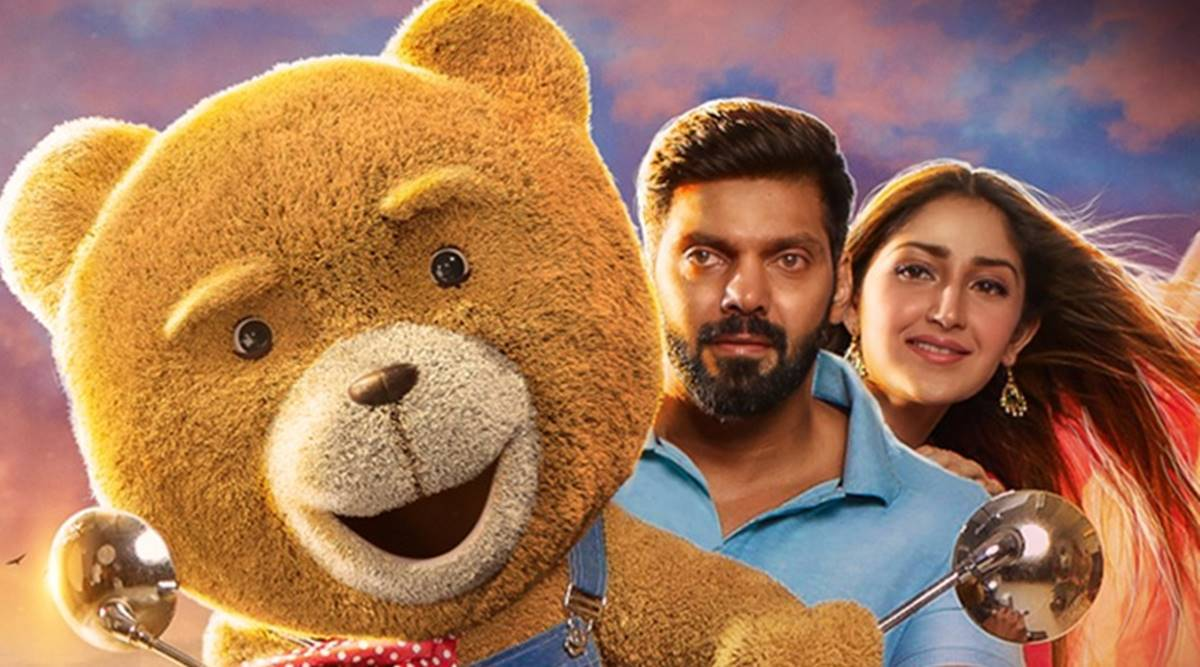 Teddy movie review: Arya, Sayyeshaa and the teddy bear are let down by Shakti Soundar Rajan - The Indian Express