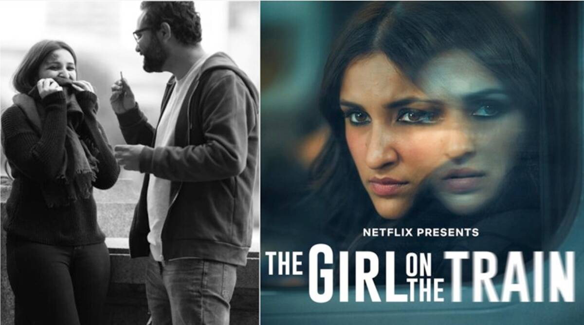 director ribhu dasgupta the girl on the train stills parineeti chopra netflix