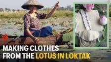 Spinning a success story from Lotus Stem: Bijiyashanti's journey on the Loktak