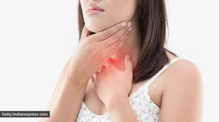 COVID-19, COVID-19 and thyroid, thyroid problems seen in COVID-19-positive patients, health, indian express news