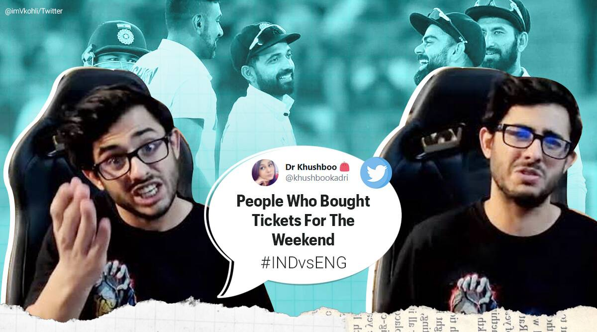 ind vs eng, pink ball test, ind vs eng test end in two days, motera test refund memes, ind vs eng tickets memes, viral news, cricket news, indian express