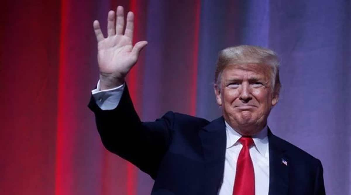 Donald Trump, Donald Trump impeachment trial, us Senate acquits trump, donald trump acquited, donald trump insurrection trial, capitol hill riots, donald trump capitol hill riots, us news, Indian express news