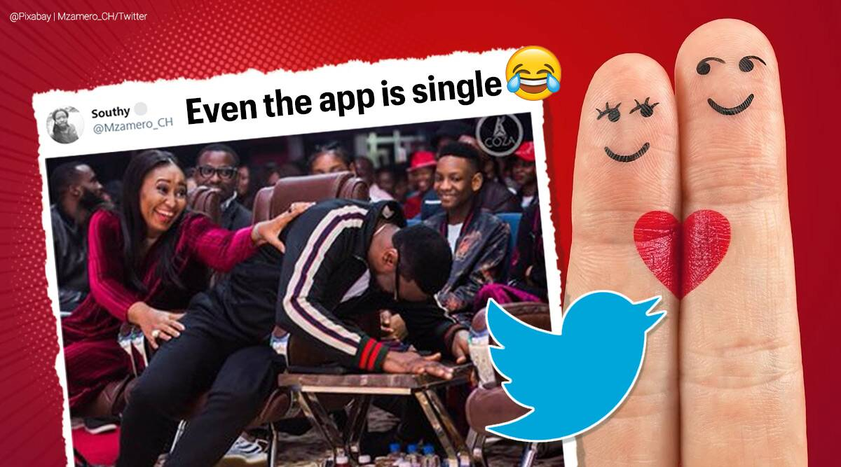 valentines day, valentines week, twitter, twitter muted words reminded, twitter app is single, viral twitter chat, indian express, social media news