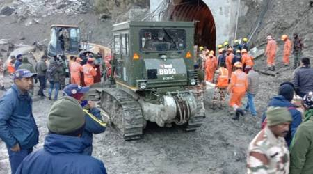 Uttarakhand glacier breaks off: See these 10 photos of rescue operation