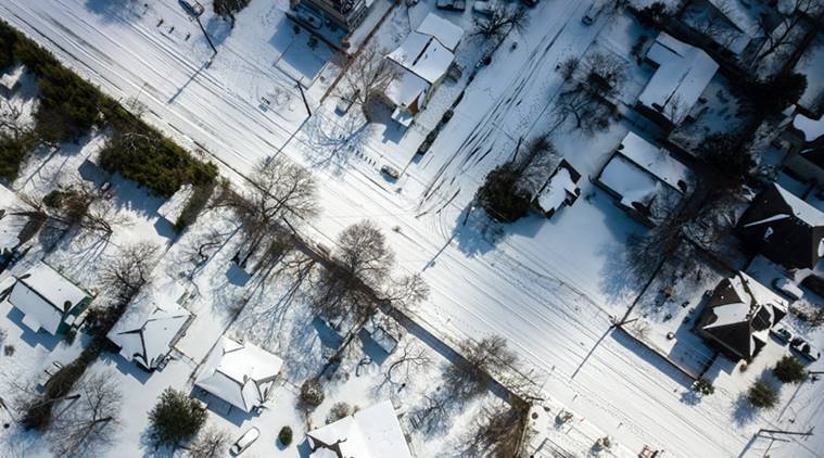 Millions without power as winter storm grips Central US - The Indian Express