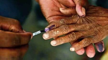 Vadodara Municipal Corporation, Gujarat Assembly Speaker, Rajendra Trivedi, Vadodara elections, Vadodara voter's turnout, Vadodara news, gujarat latest news, indian express