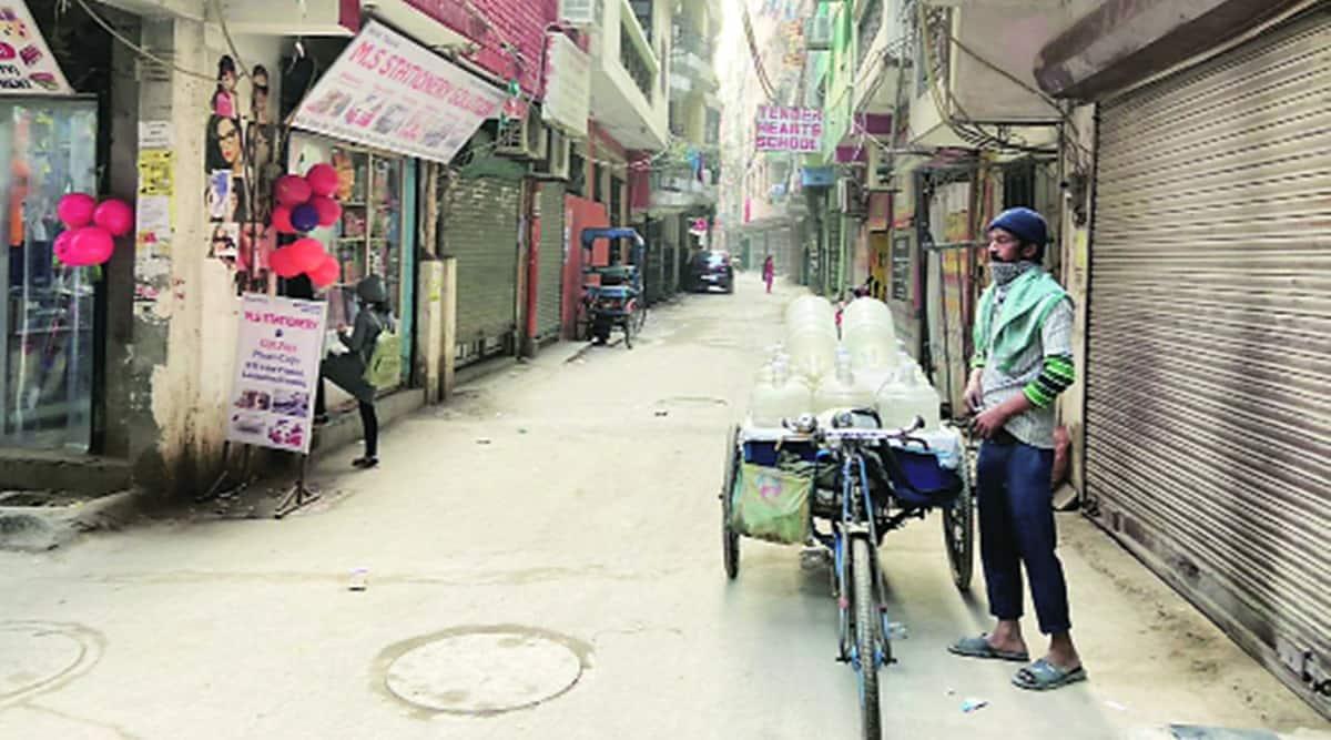 southeast delhi, southeast delhi drinking water supply, southeast delhi bottled water supply, indian express new