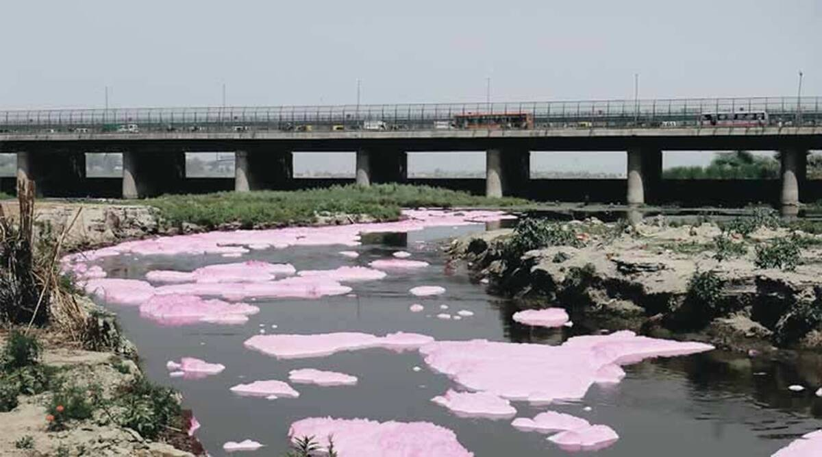 river Yamuna catchment area, Yamuna river drains, Delhi drains, CPCB, Delhi news, Indian express news