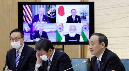 Quad summit: China in mind, statement says will counter threats to Indo-Pacific
