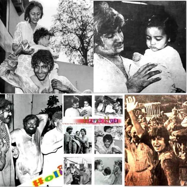 Amitabh Bachchan Holi 2