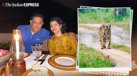 Anil Kumble, Indian Cricket, Indian Express, Anil Kumble photography, Anil Kumble cricket, Kabini, wildlife sanctuary