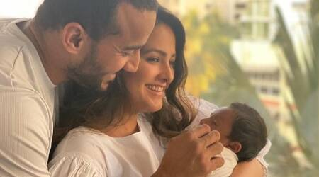 Anita Hassanandani, Rohit Reddy best time with son Aaravv in 14 photos