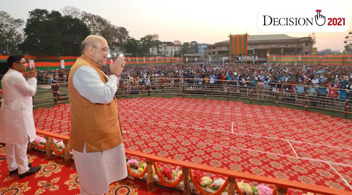 Assam elections, Assam election news, Love Jihad BJP assam, Amit Shah Love Jihad, Land Jihad BJP Assam
