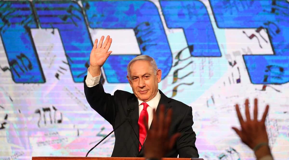 Benjami Netanyahu, Israel polls