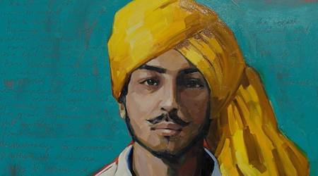 Shaheed Diwas, Bhagat Singh death anniversary, Bhagat Singh facts, facts about freedom fighter Bhagat Singh, Bhagat Singh, Rajguru, Sukhdev, Bhagat Singh hanging, Bhagat Singh popularity and influence, Bhagat Singh legacy, Bhagat Singh farmers' protests, indian express news