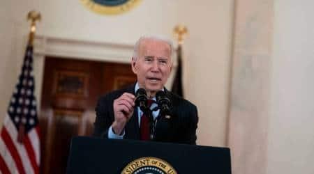 Joe Biden, Covid-19 bill, US covid bill, Biden signs Covd bill, US covid cases, world news, Indian express