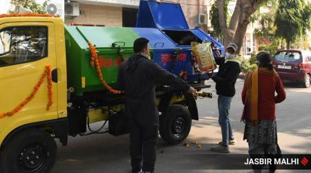 Chandigarh, Garbage collection