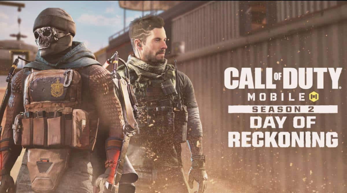 Call of Duty, Call of Duty Season 2, Call of Duty Mobile, Call of Duty Mobile Season 2, Call of Duty Day of Reckoning,