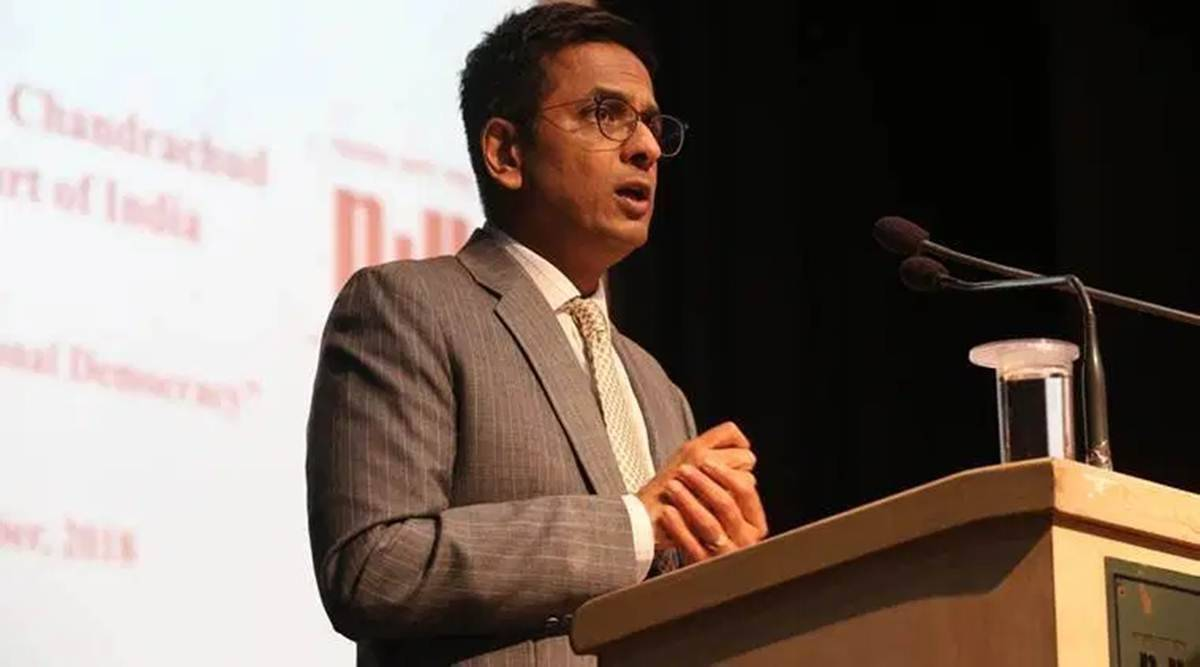 Justice D Y Chandrachud, Permanent Commission for women, SC judge, satisfaction in being a judge, Supreme court, Indian express news