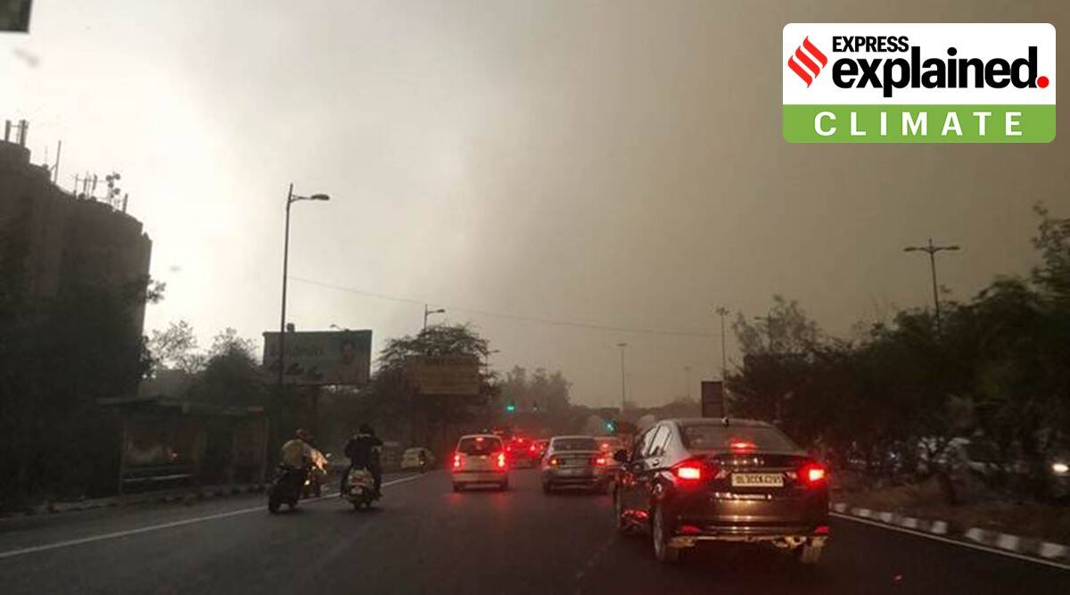 Explained: Dust winds in Delhi, their cause, how long will they continue?
