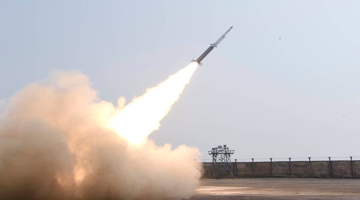 DRDO missile