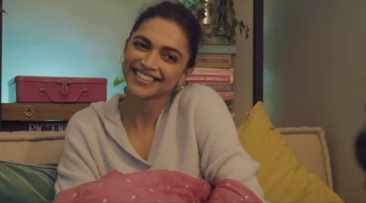 A day in the life of Deepika Padukone: Between film shoots and workout, actor checks out phone covers - The Indian Express
