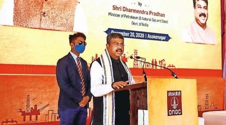 Saudi oil reserves, Dharmendra Pradhan, Indian economy, Indian express news